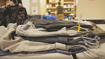 donation of clothing
